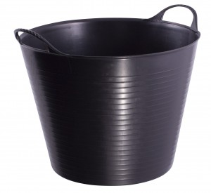 GORILLA TUB® MEDIUM BLACK 26 L
